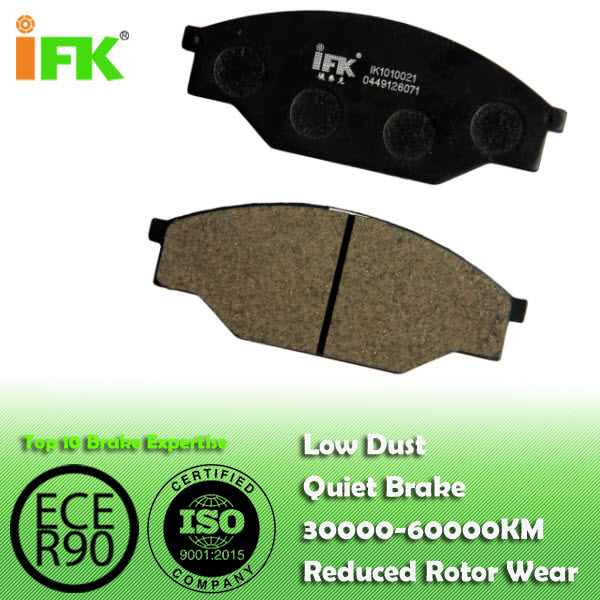0449126071/GDB351/D303 Semi-metallic/Low-metallic/NAO/Ceramic Disc brake pad manufacturer