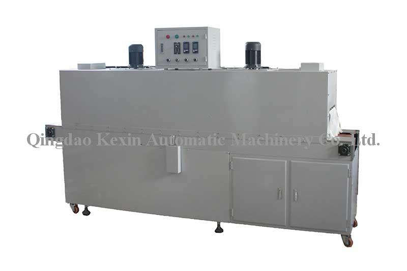 various solid objects' shrink wrap/Shrink tunnel for one double lane packaging machine