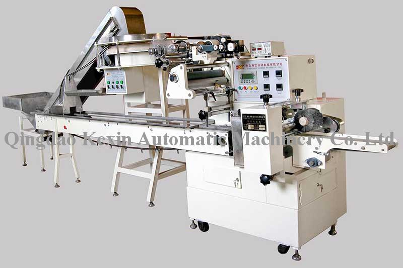 Automatic packaging machine with a syringe dialysis note
