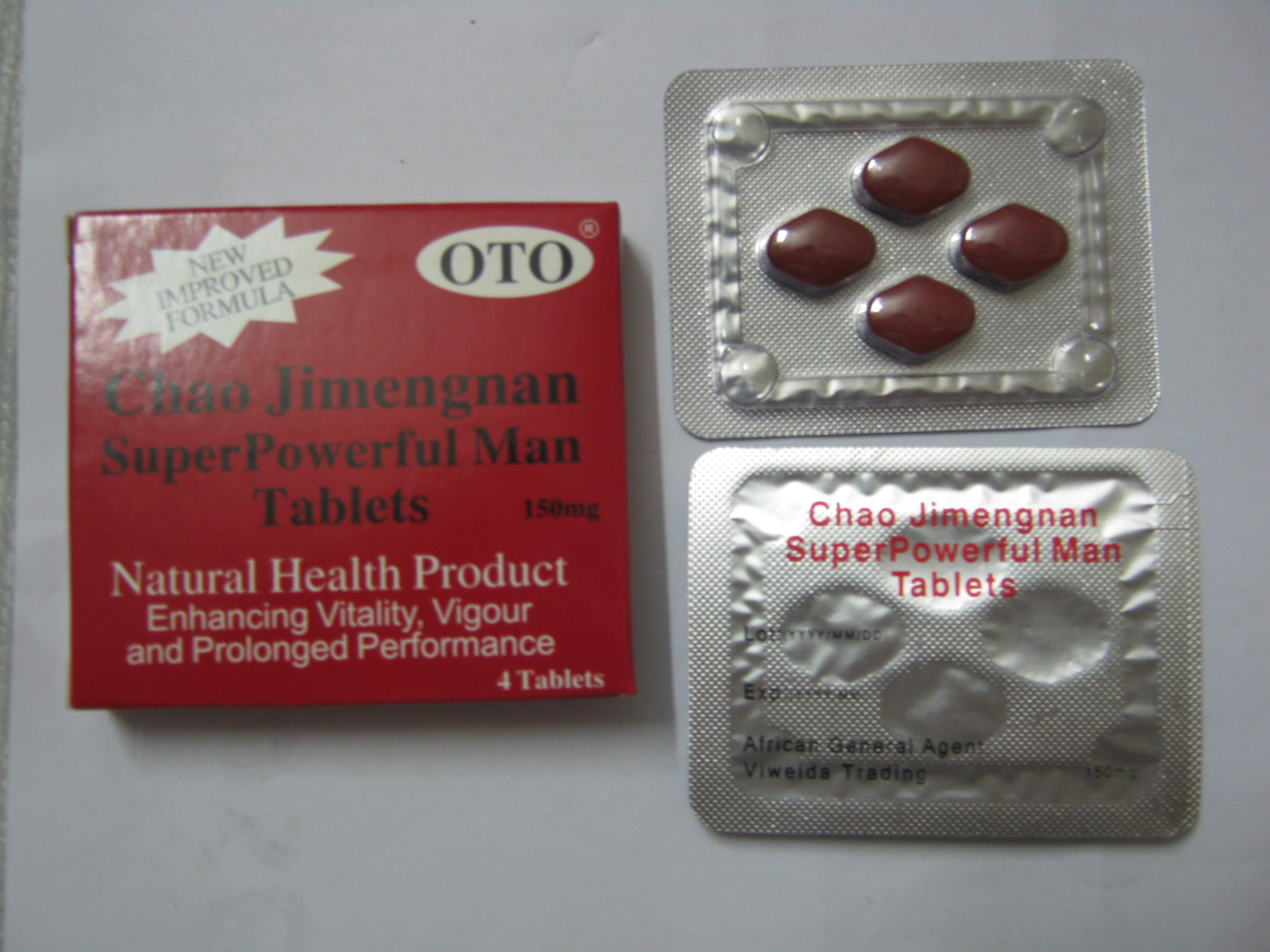 CHAO JIMENGNAN SEX ENHANCEMENT PILLS