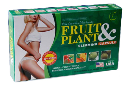 Fruit & Plant Slimming Capsule (USA Version)