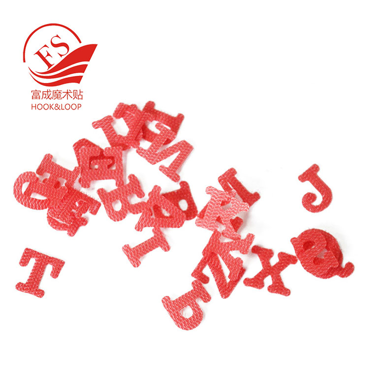 Children learning self adhesive alphabet letters numbers stickers hook loop