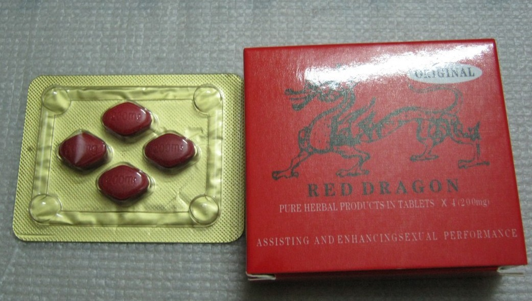 Red Dragon Male Enhancement Capsules