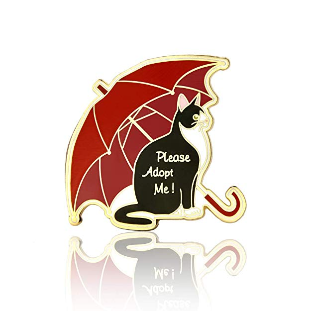 GS-JJ Black Cat Lapel Pin
