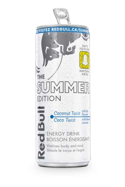 Red Bull Summer Edition Coconut Twist Energy Drinks