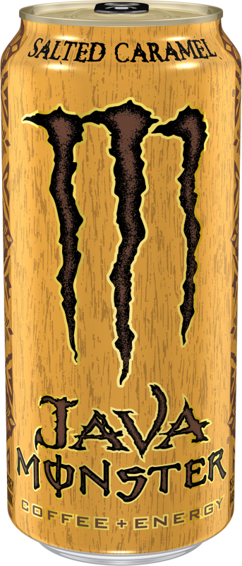 Java Monster Salted Caramel Energy Drinks