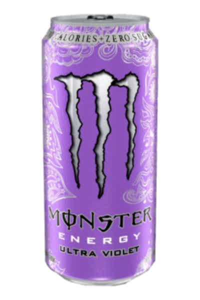 Monster Ultra Violet Energy Drinks