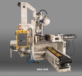 Core Shooting Machine and Shell Molding Machine  KKA-640 Vertical