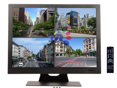 19 inch CCTV LED Monitor - Professional Series