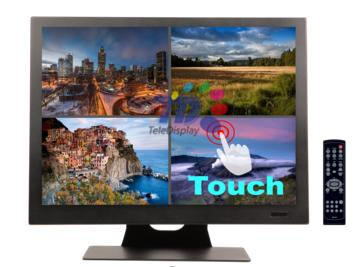 15 Inch Resistive Single Touch LED Monitor