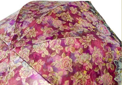 Warp Printed Jacquard Fabric for Umbrellas
