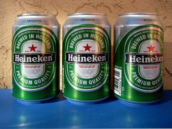 Heineken Beer 250ml, 330ml and 500ml