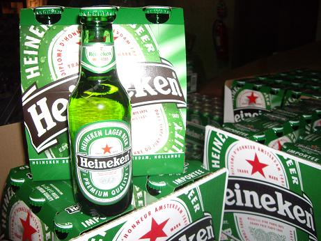 LAGER BEER HEINEKEN 250ML BOTTLE