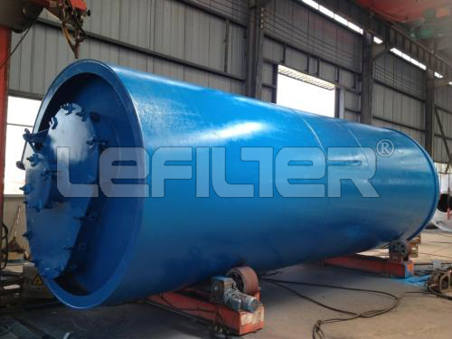 waste tire pyrolysis plant with 10 tons capacity