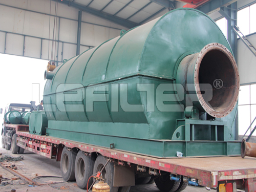 Waste Rubber/Plastic/Tire Pyrolysis Plant to Fuel Oil Carbon Black and Steel Wires