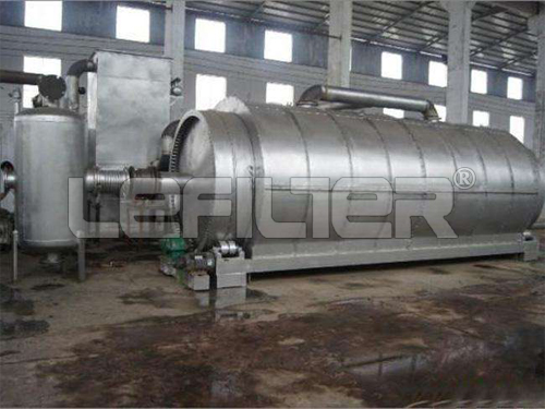 Waste Tire to Fuel Oil Pyrolysis Plant with ISO