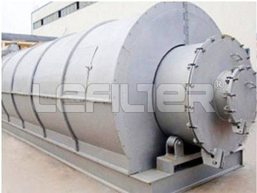 China No.1 Manufacturer Waste Plastic/Rubber/Tyre To Fuel Oil Pyrolysis Plant
