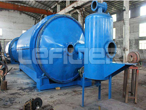 Medical Waste Plastic Pyrolysis Recycle Machine