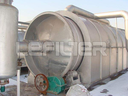 LEFILTER Waste Tyre Pyrolysis Plant