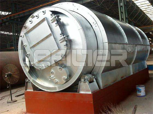 best quality waste tire pyrolysis plant