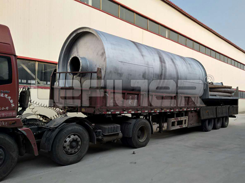 Waste Tires to Fuel Oil Pyrolysis Plant