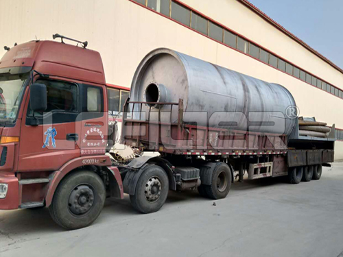 waste tyre pyrolysis plant with the best price