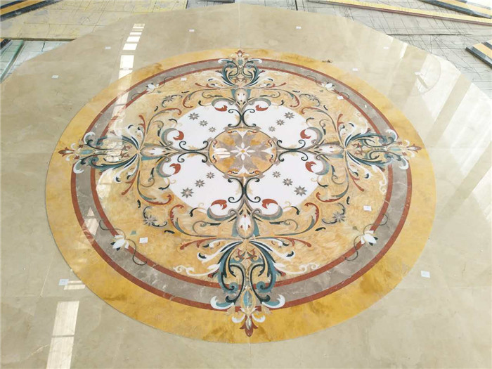 Tile Medallion Inlay Patterns.