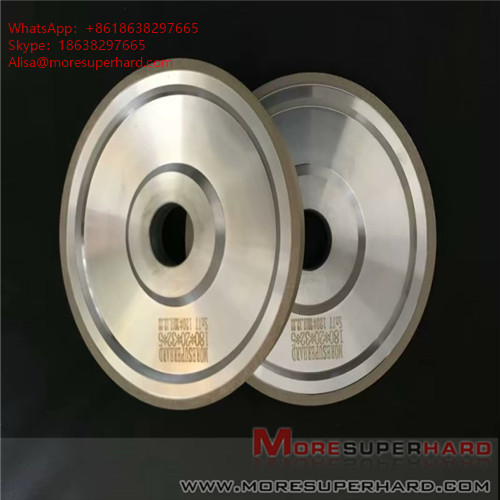 Carbide processing by metal bond diamond grinding wheel