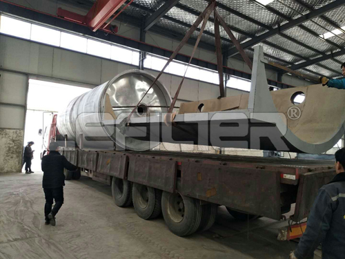 0 Tons Waste Tyre Pyrolysis Recycling Machine To Oil