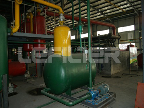 high profitable waste material to oil project pyrolysis plant