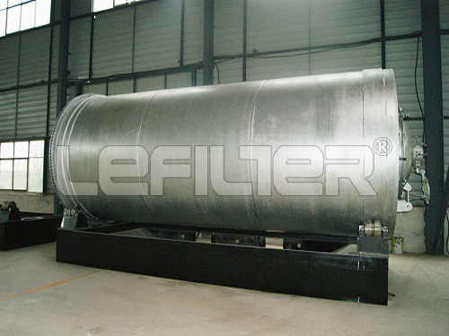 Waste Plastic Pyrolysis Plant with Material Q245R BOILER STEEL