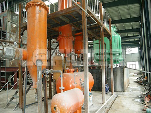 High Efficiency Waste Rubber/Plastic Raw Material Pyrolysis Machine