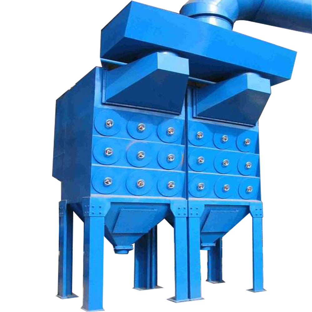 Cartridge Filter Dust Collector for port of transshipment nonferrous metallurgical industry fertilizer field