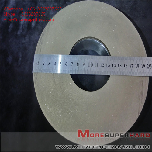 Metal bond diamond grinding wheel machining magnetic material