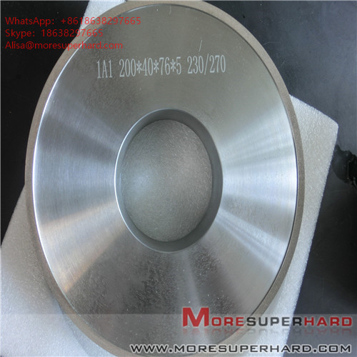 1A1 200*40*76*5 Grinding wheels for magnetic materials