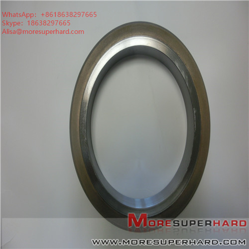 175825*127*10 D35 Metal bonded diamond grinding wheel, glass grinding wheel, diamond superhard grinding wheel Alisa@moresuperhard.com