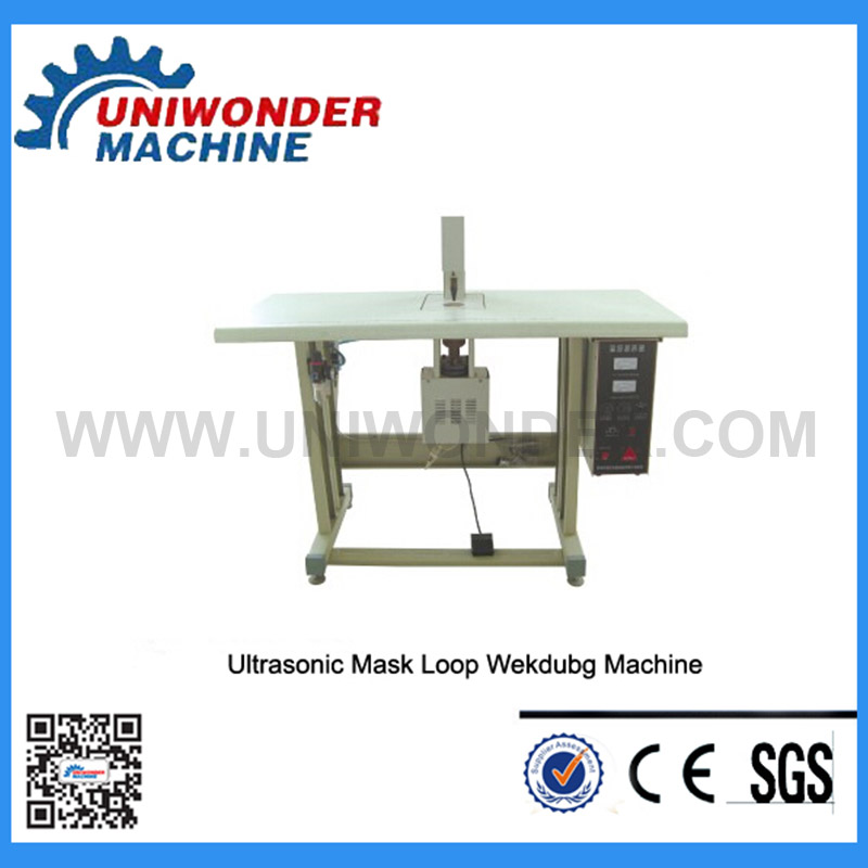 Manual Mask Ear-loop Welding Machine