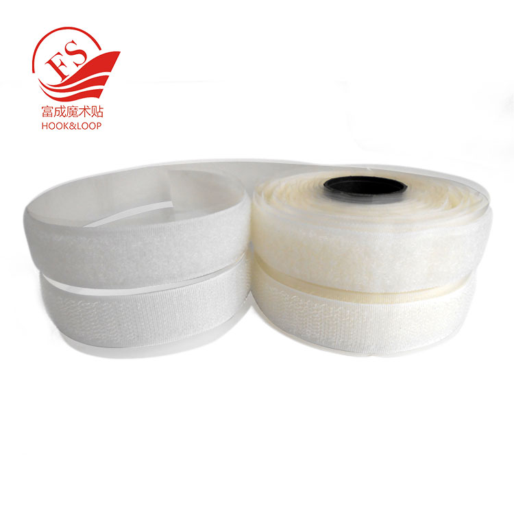 Heavy duty strong adhesive backing injection hook and soft loop cloth pair