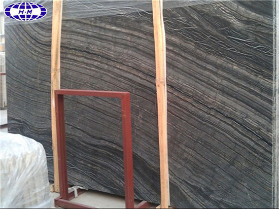 China Black Wood Vein Marble
