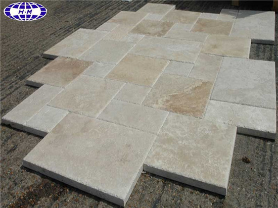 French Pattern Travertine