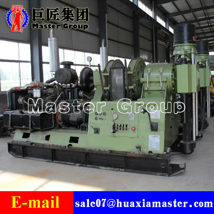 Hydraulic water well drilling rig XY-8 Hydraulic Drilling Rig