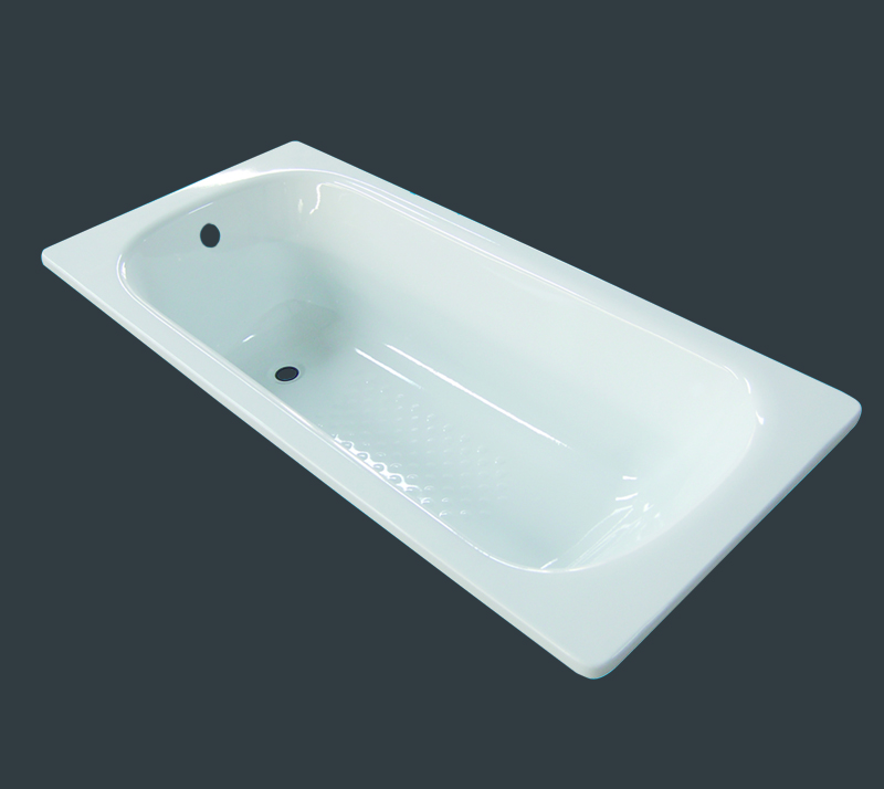 high-quality built in enameled steel bathtub YX-3005