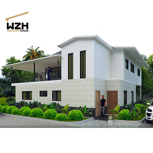 Cheap Prefabricated Modern Villa House