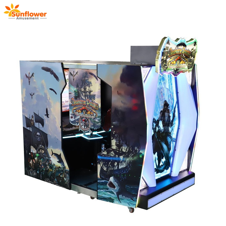 Deadstorm Pirate Adult Gun Shooting Simulator Arcade Machine
