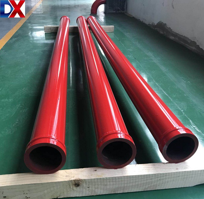 Long life time DN125 concret pump pipe for zoomlion