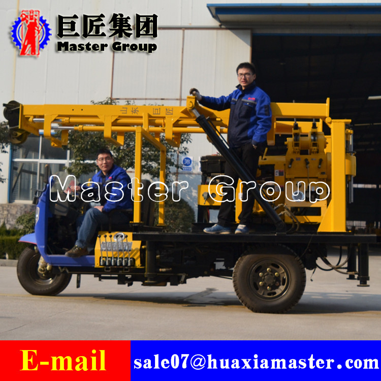 XYC-200A Tricycle Water Well Drilling Rig