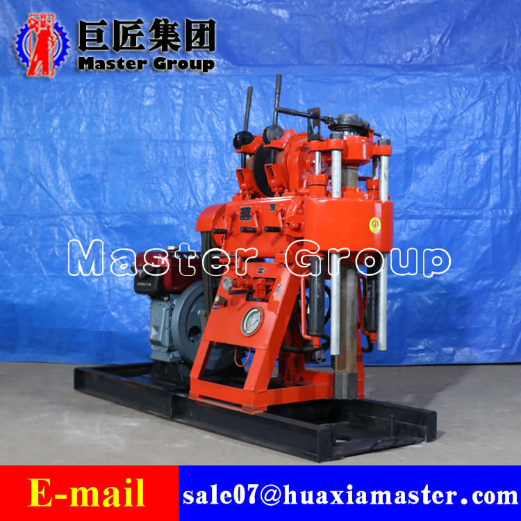 XY-200 hydraulic water well drilling rig water borehole drilling machine