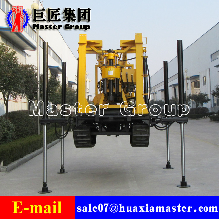 XYD-3 crawler water well drilling rig