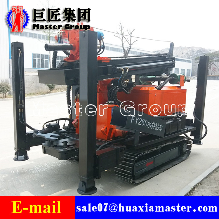 FY260 crawler type pneumatic drilling rig
