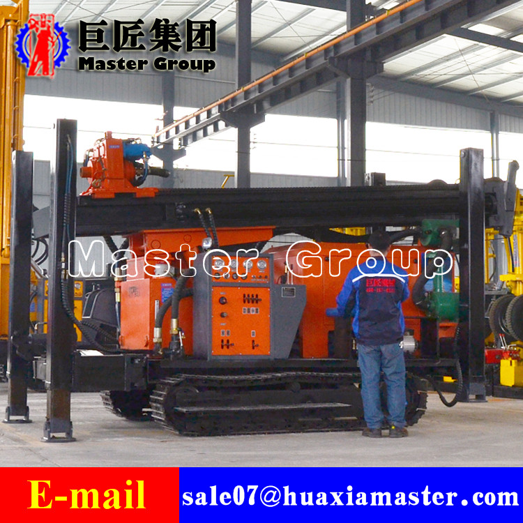 FY400 Crawler Type Pneumatic drilling rig